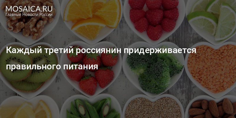курсы правильного питания в москве